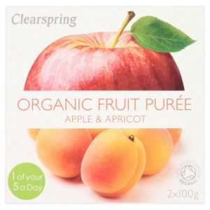 Clearspring Apple & Apricot Puree