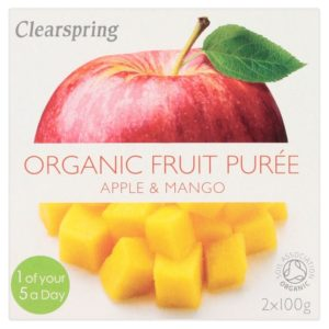 Clearspring Apple & Mango Puree
