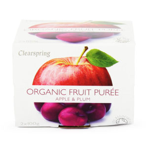 Clearspring Apple & Plum Puree