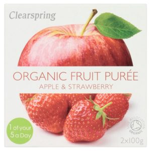 Clearspring Apple & Strawberry Puree