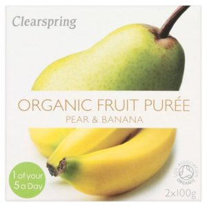 Clearspring Pear & Banana Organic Puree